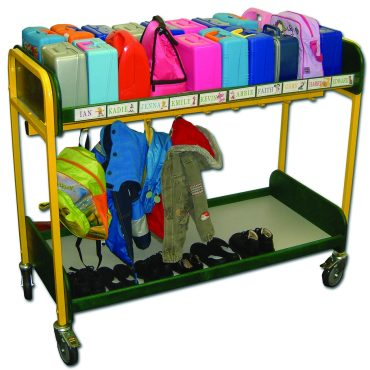 Multi-purpose lunchbox and cloakroom