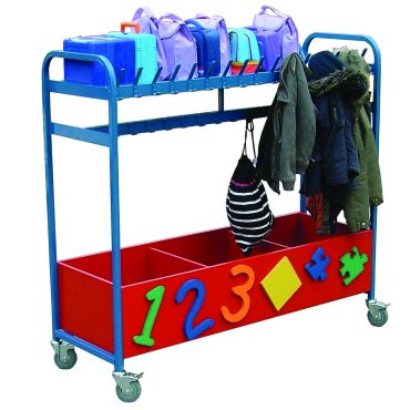 Cloakroom & Box Trolley