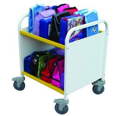 White Lunchbox Trolley