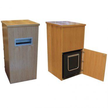 2 Part wooden Box Return