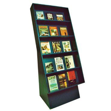 5 shelf adjustable heights.