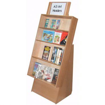 Wood Finish Display unit