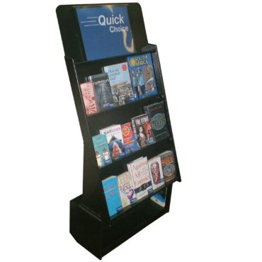 DB10 3 shelf wooden display unit