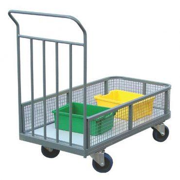 Mesh Sided Industrial Platform Trolley (IND2)