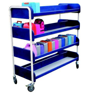 Large double lunchbox trolley