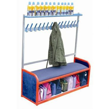 Modular Cloakroom Bench with Storage
