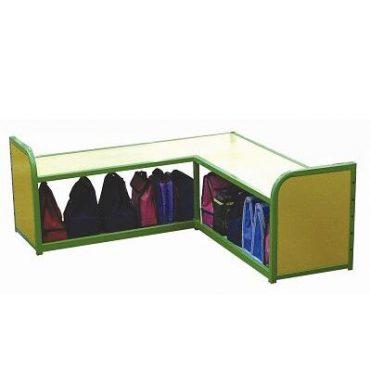 Modular Cloakroom Corner Unit
