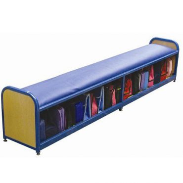 Modular Cloakroom Lunchbox Bench