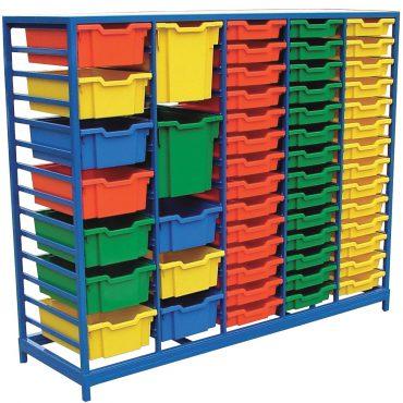 Multi Tray Storage Rack