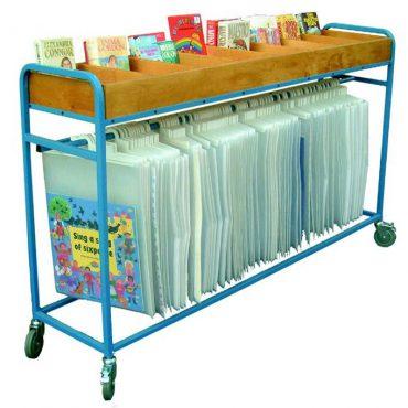 Single tier big book & Bookshelf