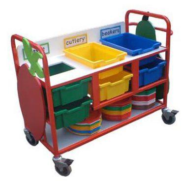 Small Waste Trolley