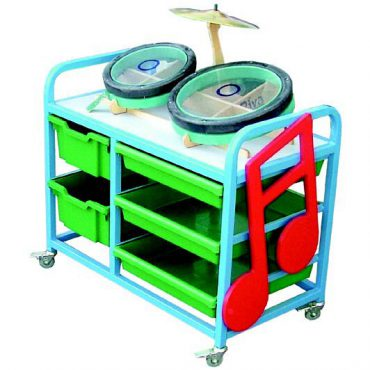 Small music trolley