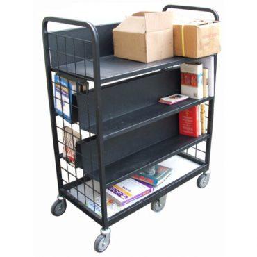 Steel Book Trolley
