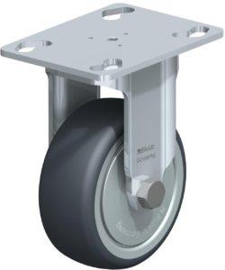 Small fixed castor wheel example