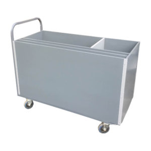 Stock Container Trolley With Dividers