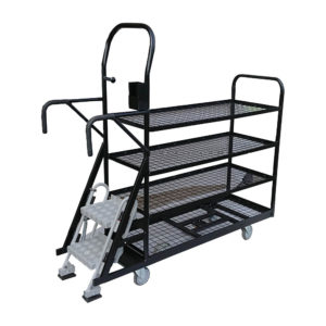 Step Trolley With Device Holder