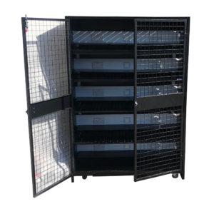 E-Commerce Device Storage Cage