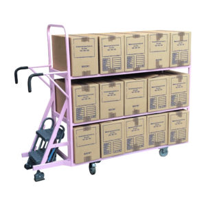 Step Trolley With Three Shelves