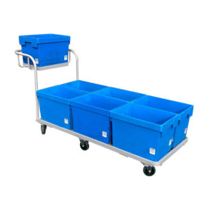 Flatbed Trolley With Boxes