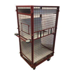 Lift Off Front Secure Library Cage