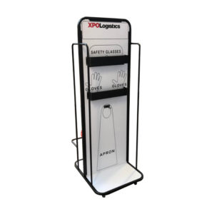 Slimline Cleaning Station With Logo