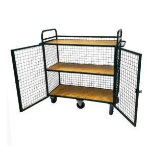 Locking Bookshelf Secure Unit