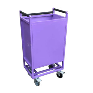 Purple Compact Spring Loaded Trolley