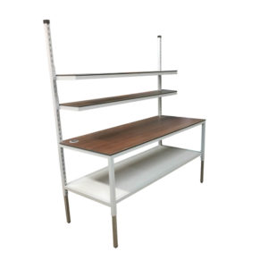 Height Adjustable Work and Packing Bench