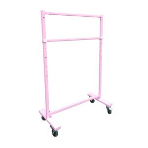 Pink Powder Coat Height Adjustable Rail