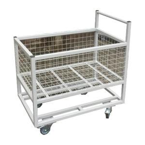 Steel Trolley With Reinforced Base