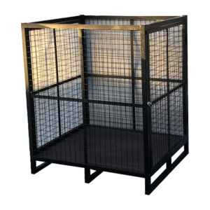 Bolt Down Square Secure Cage Cupboard