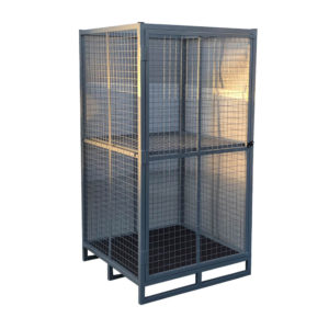 Bolt Down Secure Cage Cupboard