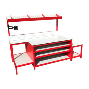 Red Work Bench