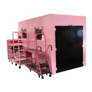 Pink Pod With Double Doors