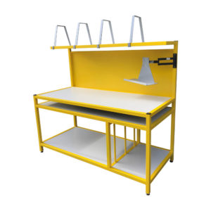 Work Bench With Dividers