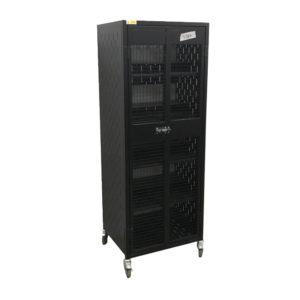 Black Powder Coat Locking Cage