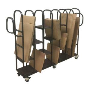 Wide Packaging Toast Rack Trolley