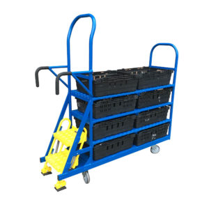 Step Trolley With Two Steps