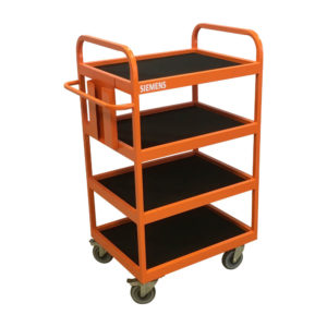 Four Shelf Steel Trolley