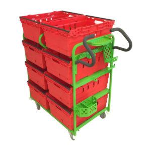 Eight Box Pick Trolley