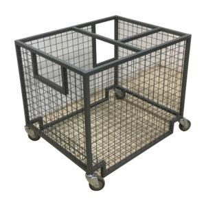 Square Cage Trolley On Wheels