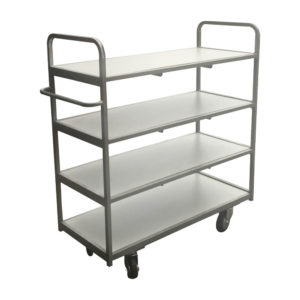 Four Tier Trolley With Wheels