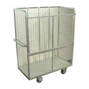 Industrial Double Cage Trolley