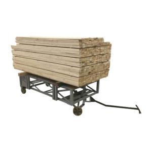 Heavy Duty Wood Trolley