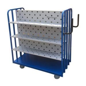 High Back Shelf Trolley