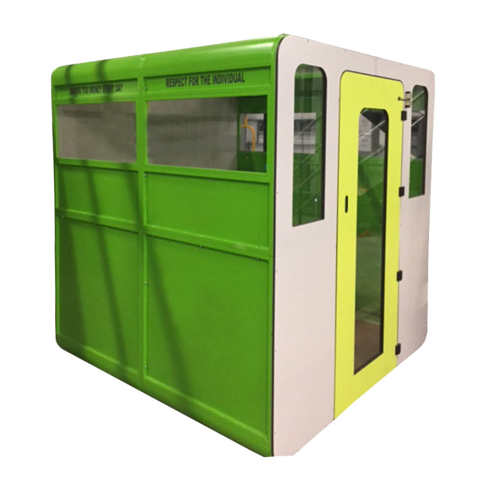 Green Aqua Smart Office Pod