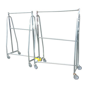Heavy Stainless Steel Clothing Rail
