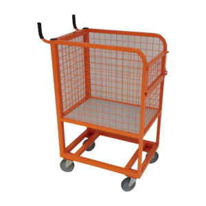 Orange Basket Trolley