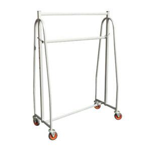 Large Garment Rail With Castor Wheels