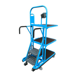 Three Tier Compact Step Trolley